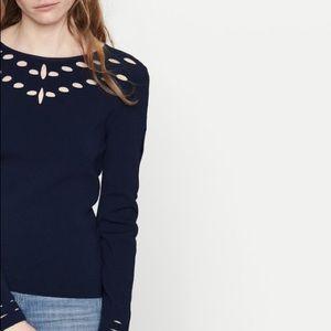 Maje Mathilde nuit sweater